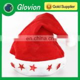 New design christmas hats with flashing lights funny santa hats decorated santa hat