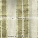 SILK FABRIC GREEN AND CREAM