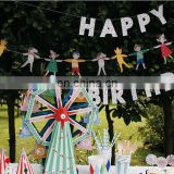 Paper Customized Pennant String Flag Triangle flag bunting