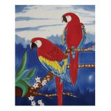 Bird ceramic picture tile YJS-019