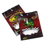 Soft bait ziplock packaging lure packing lure bag for fishing lure
