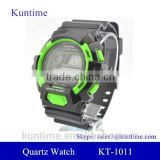 alarm clock function power balance bracelet sport watch