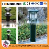 High cost performance aluminum outdoor solar lawn light garden bollard lamp