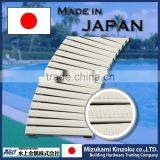 bendable and easy to use plastic grating panel with high durability made in Japan
