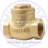 BRASS SWING CHECK VALVE THAT YOU NEED FOR YOUR IRRIGATIONAL SYSTEM
