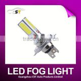 Wholesale Car accessories 24W COB H10 9005 9006 high power,H4 H7 H9 LED fog,canbus H8 H11 Led car