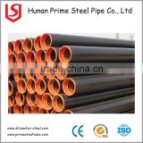 Prime quality erw 4 inch ERW Steel API 5L Grade X-46 MS 3 Layer PF Coated Steel Line Pipe