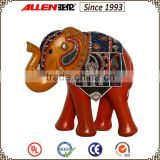 23 cm resin elephant statue home decor