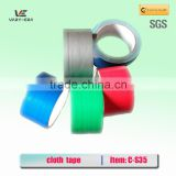 Free shipping wholesale Colour supply different kinds/size of duct tape cloth tape