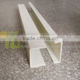 Fiberglass reinforced plastic cable tray with cover