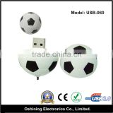 Mini Football Shape Bulk Cheap Plastic USB Flash Drive ( USB-060 )