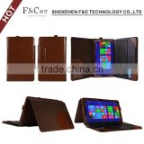 high quality pu leather keyobard case for asus transformer book t300 chi 12.5'' tablet
