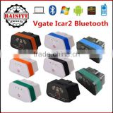 2016 New Arrival Vgate iCar2 Bluetooth OBD2 OBDII Scanner iCar 2 ELM327 Bluetooth auto car Diagnostic Interface Code Scanner