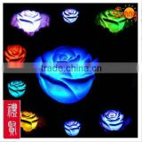 Floating Led Openning Flower Shape Candles