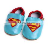 Newest Fashion super hero shoes baby cartoon shoes infant shoes H-Q for 0-2 years