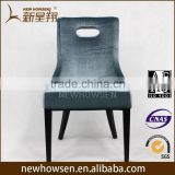 Hotel metal banquet chair, cafe dining chair