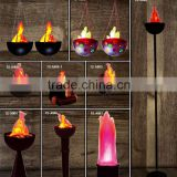 High quality Home decoration table style LED party Fire flame light with stand / LED stage light for party use for whole sale
