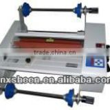semi-auto paper laminating machine ,FM480+ Roller laminator machine,semi-auto hydraulic laminating machine
