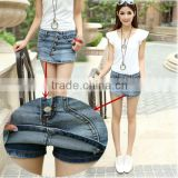 women Shorts Skirts Summer casual denim shorts women Jeans Vintage Single Breasted female sexy Skorts skirt