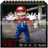 Super Marie Clay Statue cartoon figures figurines fiberglass sculpture for park                                                                         Quality Choice