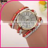 DIY Newest Model Sell Well Bracelet Watch Big Dial Vintage Watch