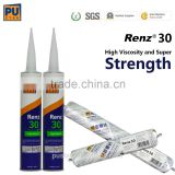 High Performance PU Adhesive for Auto Windcreen Windshield and Side Glass Sealingof Cars, Buses(RENZ30)