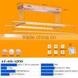 Automatic ceiling-mounted clothes hanger,High quality automatic clothes drying rack,Aiyi automatic clothes rack
