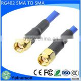 SMA connector RF jumper cable RF coaxial RG402 cable with SMA connector for RG402 cable assembly