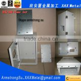 XAX02DB OEM ODM customized Wireless Fiber Optics Satellite Communication Cable Television metal distribution control box
