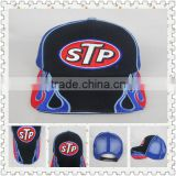 washed cotton twill caps cotton 6 panel embroidery baseball caps Sandwich peak baseball cap with emboridery