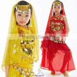 SWEGAL kids belly dance costumes,belly dance costumes children SGBDT14080