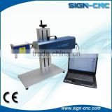 Portable Fiber Laser Marking Machines For Metal Fiber Laser Marker, steel, aluminum
