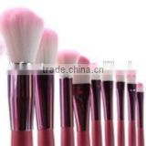 New products on china market customized makeup brush sets with makeup case