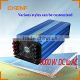 CHENF High power 6KW 110v dc ac Pure Sine Wave Inverter With UPS Automatic Charger
