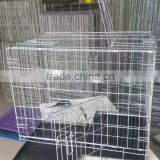 "35"" Export Low Price Black Color Metal Wire Folding Pet cage for dog cage"
