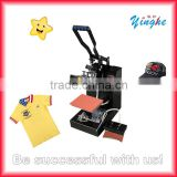 Mini 2 in 1 Sublimation heat press machine for sale with high quality for Tshirt and cap