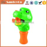 Soap bubble toy crocodile hand bubble shooter gun toy