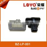 Customised led car light led license plate light for automotives euro license plate frame