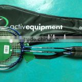 cheap badminton rackets set for Europe market