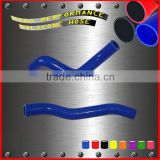 Flexible motorcycle silicone rubber radiator hose kit for KAWASAKI KFX450R KFX 450 Radiator Hose Kit parts 2008-2013 2pcs blue