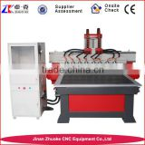 Multi Head CNC Router Engraving Machine 1300*2500mm ZK-1325-8