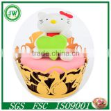 laser cut paper box laser out paper cake cup cake cup wrappers