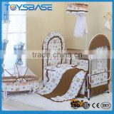 Wholesale iron baby crib with canopy mosquito net