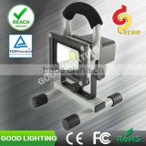 CE RoHS UL approved with USB port dimmable led floodlight 10w rechargeable led flood light
