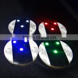 Hotselling New ABS LED pad sticker for wine bottle, with 3 brightness LED lights sticker for disco bar bottle