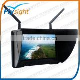 B738 5.8Ghz Flysight Black Pearl FPV Monitor for Phantom Support Fatshark Nextwave&Airwave TX without distorted picture
