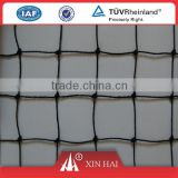 Nylon Polyester square mesh knotted multifilament netting for sport court fence net football net