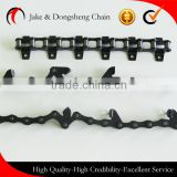 agricultural equipment parts wheat Harvester machine parts chains with attachments ZGS38/ZGS38F1/ZGS38F2/ZGS38F3ZGS38K2
