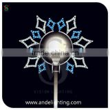 Commercial holiday led light christmas decoration LED street motif light outdoor festive motif light