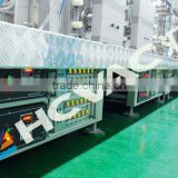convex mirror line horizontal magnetron sputtering coating machine, glass mirror manufacturing machines
